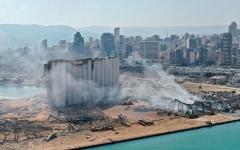 الصورة: حداد وطني في ذكرى انفجار مرفأ بيروت