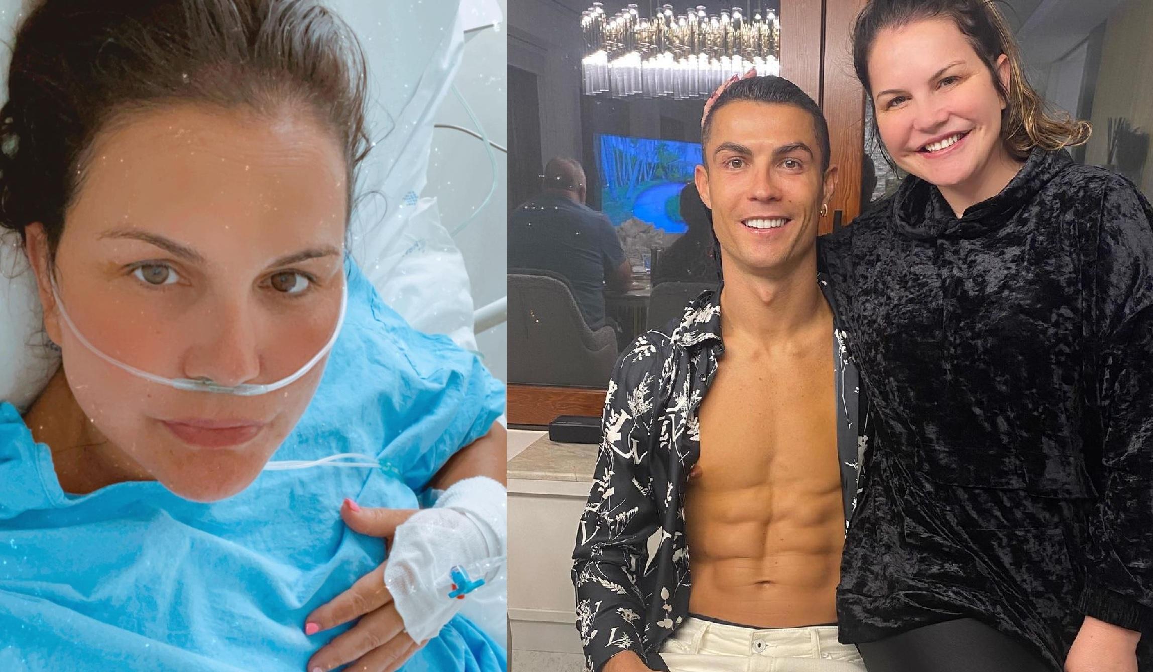 صورة شقيقة كريستيانو رونالدو في حالة صحية متدهورة (صور) – رياضة – عربية ودولية
