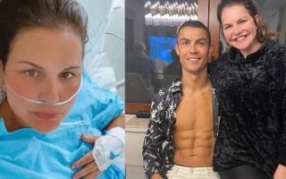 شقيقة كريستيانو رونالدو في حالة صحية متدهورة (صور)