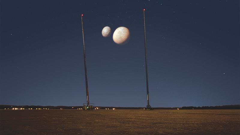 سماء الدولة شهدت ظهور أقمار المريخ ضمن تجربة «أقمار كوكب المريخ». من المصدر