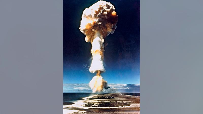 فرنسا قامت خلال 30 عاماً بـ193 تجربة نووية.  أرشيفية