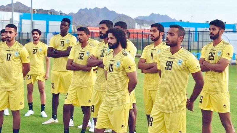 صورة دبا يعسكر في الشارقة 31 الجاري – رياضة – محلية
