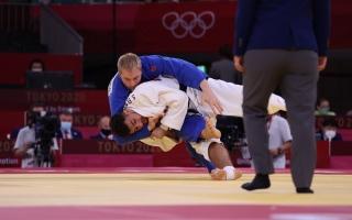 الصورة: إيفان يودع أولمبياد طوكيو بعد الخسارة في منافسات الجودو