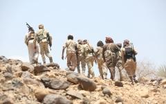 الصورة: انتصارات نوعية لقوات الشرعية اليمنية في 4 مديريات بمأرب