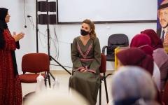 الصورة: الملكة رانيا تشجع الأردنيين على تلقي لقاح كورونا