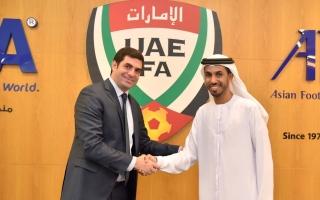 الصورة: اتحاد غرب آسيا والاتحاد الإماراتي يتفقان على موعد جديد لبطولة الرجال العاشرة