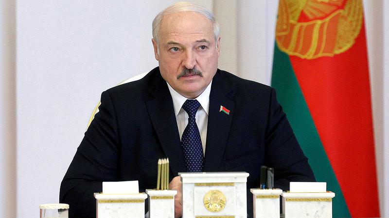 الرئيس البيلاروسي ألكسندر لوكاشينكو.  أ.ب