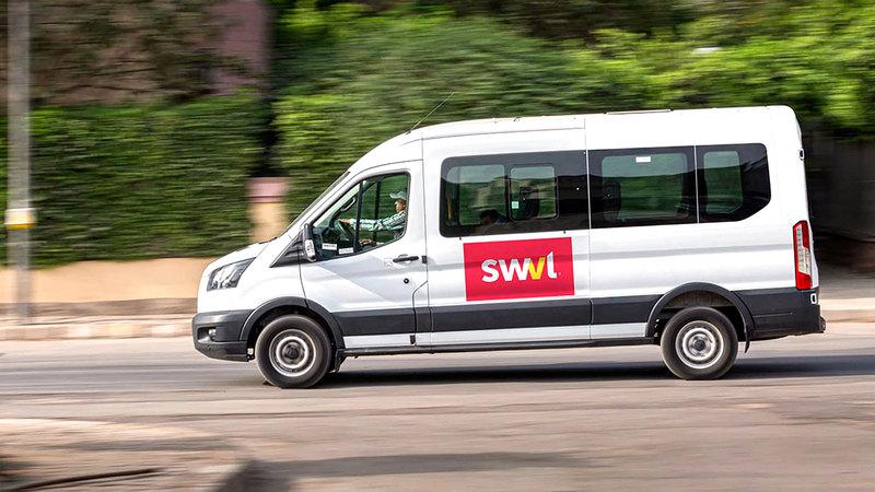 يبلغ العدد الحالي لموظفي «سويفل» نحو 700 موظف.  من المصدر