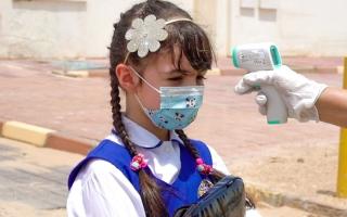 الصورة: افتتاح مركز جديد لتطعيم الطلبة ضد «كورونا»