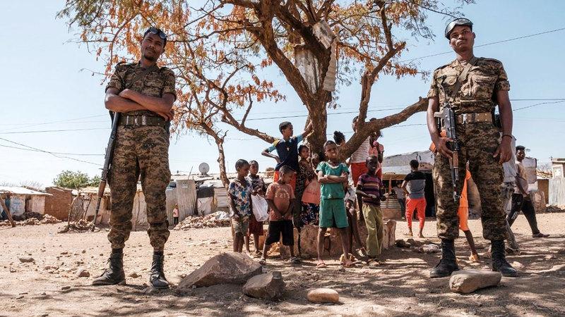 الفزع من الاضطهاد والموت يسيطر على غالبية اللاجئين.  أرشيفية