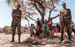 الصورة: اللاجئون الإريتريون يريدون مغادرة تيغراي الإثيوبية بأي ثمن