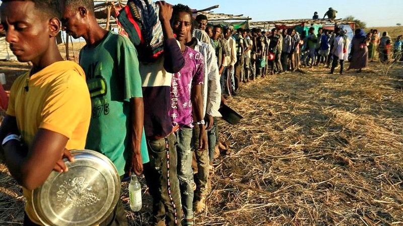 العواقب الوخيمة للحرب في تيغراي على آلاف الإريتريين تظهر بوضوح.  أرشيفية