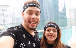 الصورة: اليوتيوبر أحمد الحسن وزوجته يردان يرد على تهمة التحرش..«سيلينا غوميز بتحبني» (فيديو)