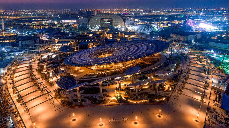 من المتوقع أن يستقبل المعرض أكثر من 25 مليون زيارة من داخل الإمارات وخارجها.  أرشيفية