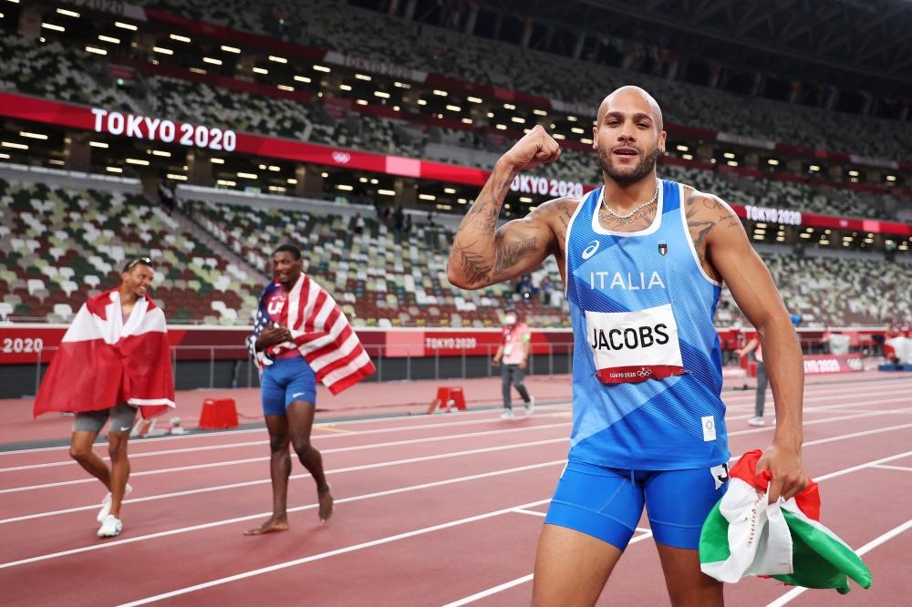 """صورة """"بولت جديد"""" يعلن عن نفسه في الأولمبياد.. تعرف إلى أسرع رجل في العالم – رياضة – عربية ودولية"""