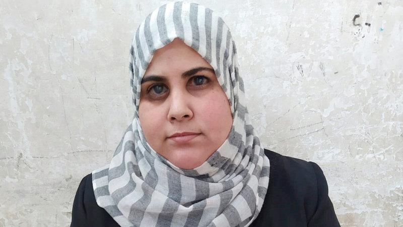 مرشدة الأقران والناشطة المجتمعية إيمان وادي.   الإمارات اليوم