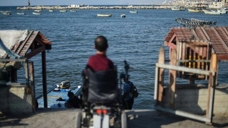 أصحاب الهمم في غزة يواجهون وضعاً صعباً.   الإمارات اليوم