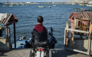 الصورة: أصحاب الهمم في غزة يعيشون «حياة قاسية»