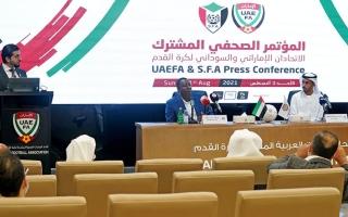 الصورة: اتحاد الكرة يتكفل بمتطلبات معسكر المنتخب السوداني في دبي