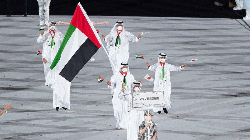 نتائج الوفد الإماراتي في أولمبياد طوكيو غير مُرضية.   أرشيفية