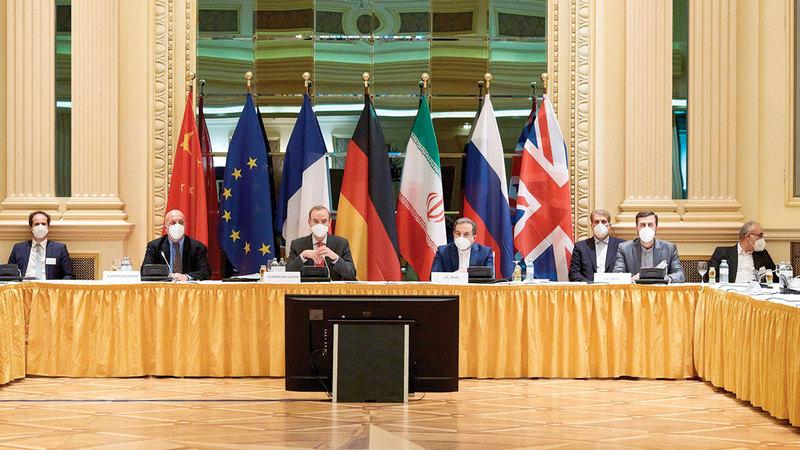 المفاوضات النووية في فيينا تواجه صعوبات مرشحة للزيادة.  أرشيفية