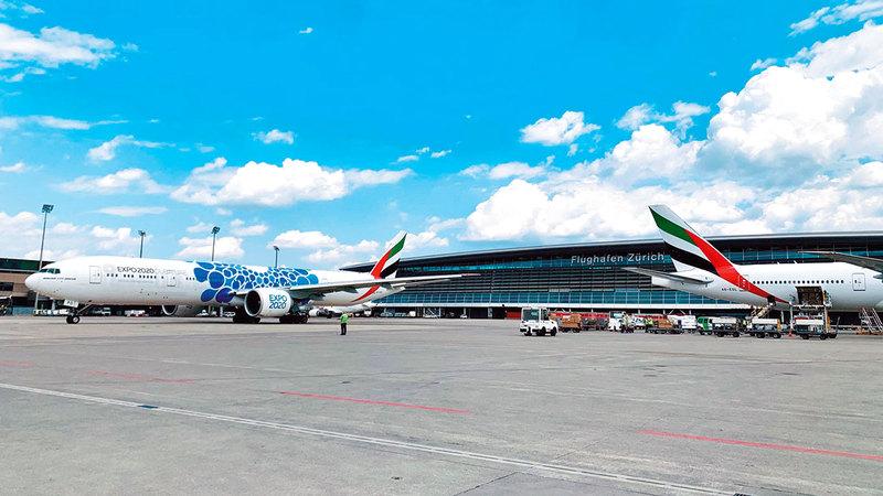 البحث عن رحلا ت الطيران والفنادق يدل على الإقبال المتزايد الذي تشهده دبي وسرعة تعافي سياحة الأعمال.  أرشيفية
