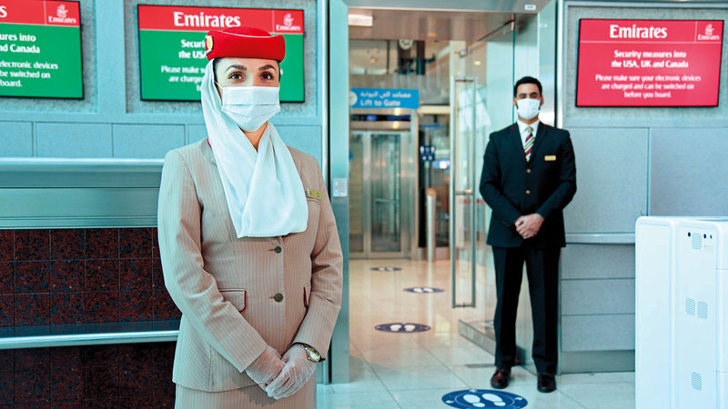 شركات الطيران الإماراتية ستشغّل الأسبوع الجاري 682.5 ألف مقعد.   أرشيفية