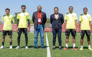 الصورة: مجلس الشارقة الرياضي يتابع «المحترفين الصغار» في إسبانيا