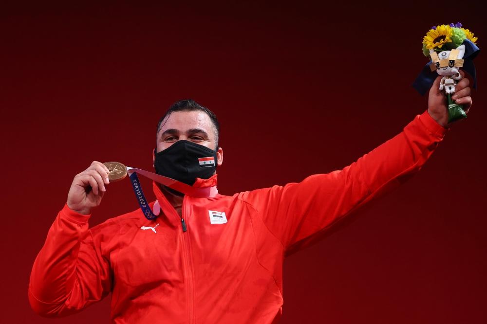 صورة سورية تتزين بميدالية أولمبية أولى منذ 2004.. وبرونزية مصرية في المصارعة (صور) – رياضة – عربية ودولية