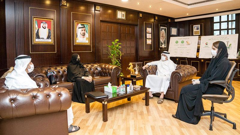 تبرّع هيئة كهرباء ومياه دبي يأتي ضمن مجموعة من التبرعات السخية لبناء المستشفى.  من المصدر
