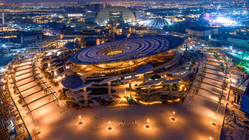 «إكسبو 2020 دبي» سيشكل الحدث العالمي الأهم خلال الفترة المقبلة.  أرشيفية