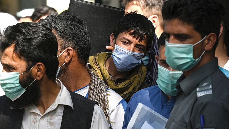 القلق من المستقبل يسيطر على جيل الشباب من الأفغان.  أ.ف.ب