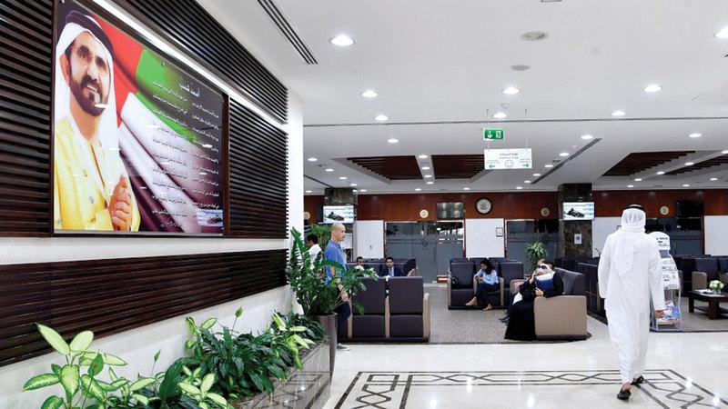 حسم المنازعات يعزّز ثقة المجتمع بالقوانين والمنظومة التشريعية في دبي. أرشيفية