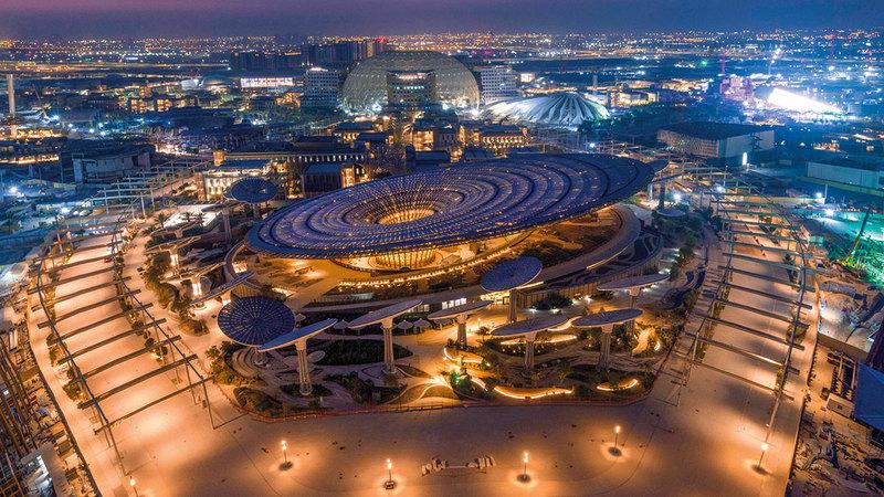 «إكسبو 2020 دبي» أُولى الفعاليات الضخمة عالمياً المُقامة منذ بداية جائحة «كوفيد-19».   أرشيفية