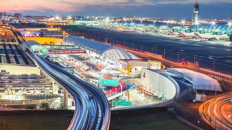 «دبي الدولي» يخدم حالياً 68% من الوجهات العالمية موزعة على 94% من دول العالم.   من المصدر