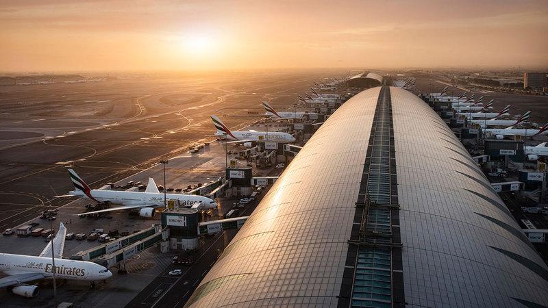 النتائج الإيجابية تأتي مع بدء العمل بتخفيف قيود السفر للقادمين إلى دبي.   أرشيفية
