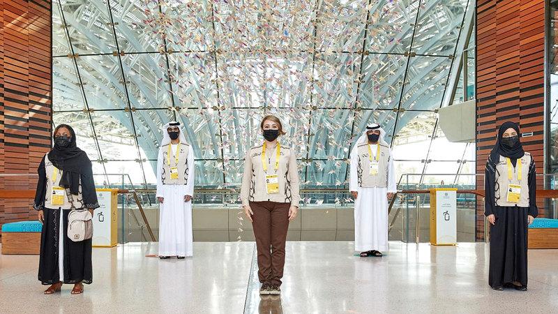 يحظى التطوّع بتشجيع حكومة الإمارات ودعمها.  من المصدر
