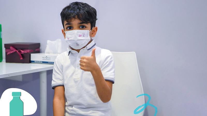 الإمارات وفّرت اللقاح للأطفال وفق استراتيجيات مدروسة.  من المصدر