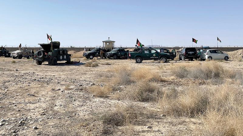 ربع الجيش الأفغاني كان يتسرب كل عام ويتم استبداله بعناصر جدد.   أ.ب