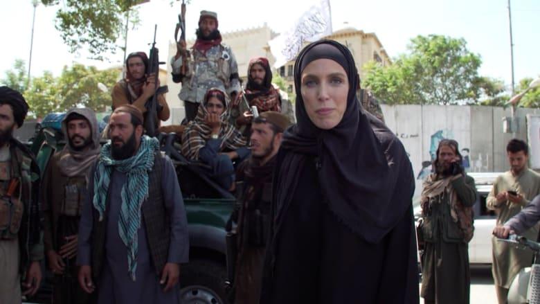 مراسلة CNN بـ«الحجاب والعباية» في أفغانستان.
