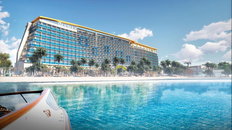 «سينتارا ميراج بيتش دبي» يضم 607 غرف وأجنحة فندقية.   من المصدر