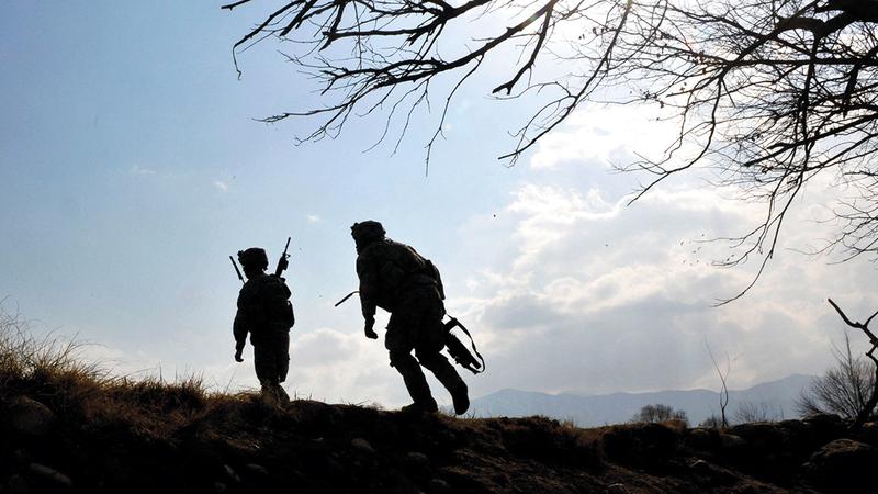 خسائر الجيش الأميركي في أفغانستان دون طائل أثارت حزن قدامى المحاربين.  أ.ف.ب