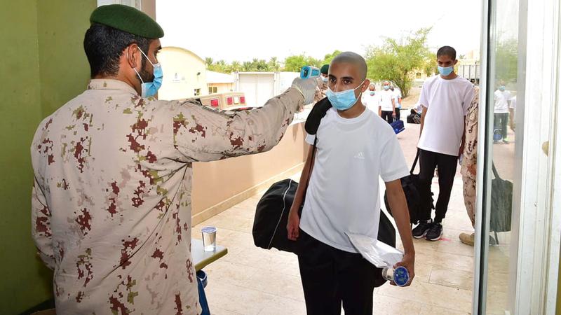 «الخدمة الوطنية» دعت المجند إلى التنسيق مع المؤسسة التعليمية.  من المصدر