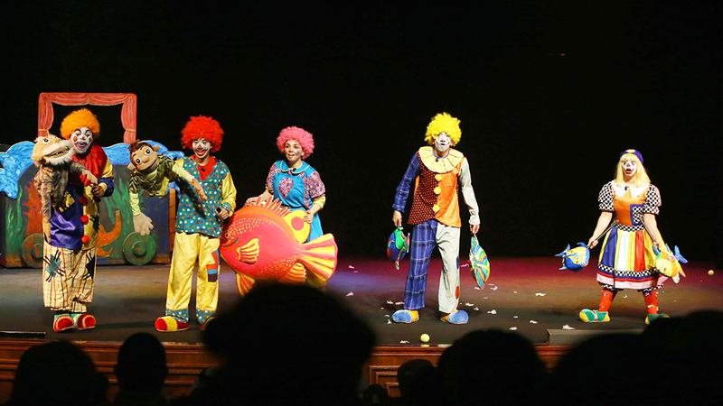 مسرح الطفل يؤدي مهمة إمتاع الأطفال وترفيههم وإيجاد معرفة جديدة لديهم.  أرشيفية
