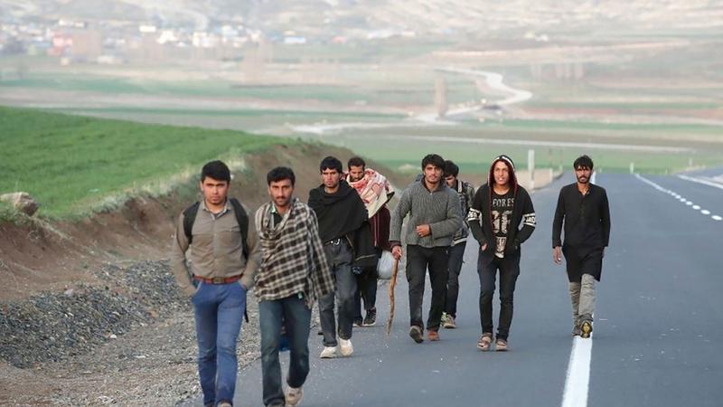 المهاجرون الأفغان يتدفقون على شرق تركيا سعياً للهجرة إلى أوروبا.  أرشيفية