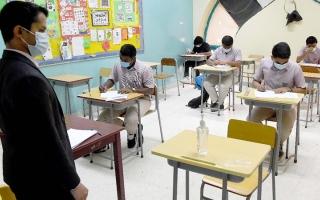 الصورة: «التباعد الاجتماعي» يعرقل تطبيق الدوام الكامل في مدارس خاصة
