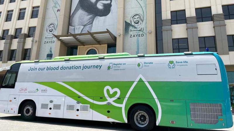 حملة «دمي لوطني» مستمرة في تنفيذ حملات خارجية.  الإمارات اليوم