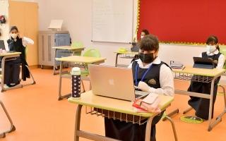 الصورة: ميكروسكوب.. إلزام المنشآت التعليمية بخطط تشغيلية للعودة الآمنة للدراسة