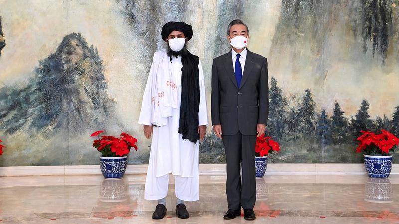 الصين تريد كسب القادة الجدد في كابول حفاظاً على أمنها القومي.  أرشيفية