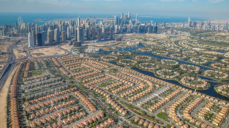 40.53 مليار درهم إجمالي قيمة المباني المنجزة في دبي خلال عام 2020.   أرشيفية